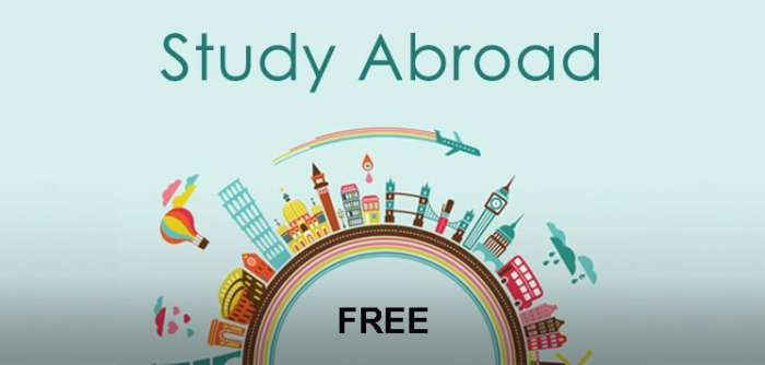 How To Study Abroad For Free