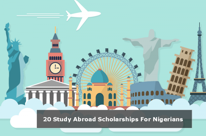 20 Study Abroad Scholarships For Nigerian Students 2020