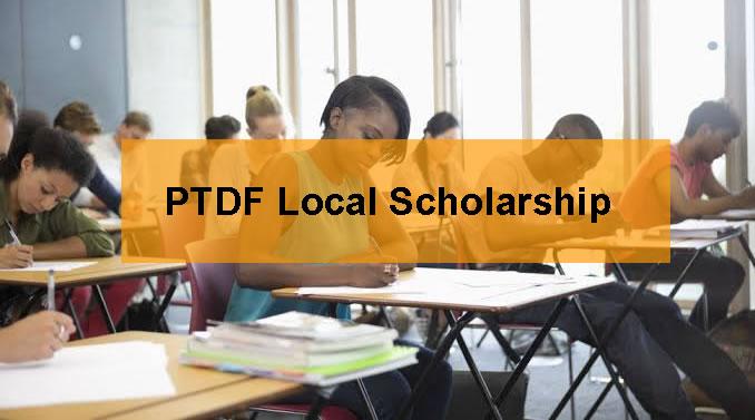 PTDF Local scholarship Scheme