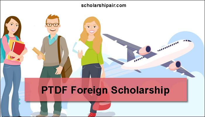 PTDF overseas scholarship Scheme